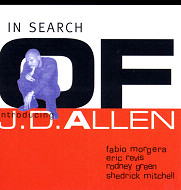 J.D.Allen / In Search Of (ジャズCD)