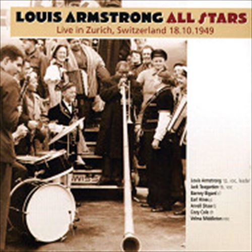 Louis Armstrong All Stars / Live In Switzerland (ジャズCD)