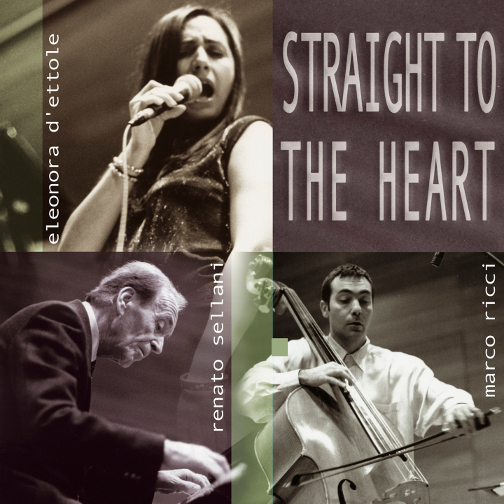 D'ETTOLE SELLANI RICCI / STRAIGHT TO THE HEART (ジャズCD)