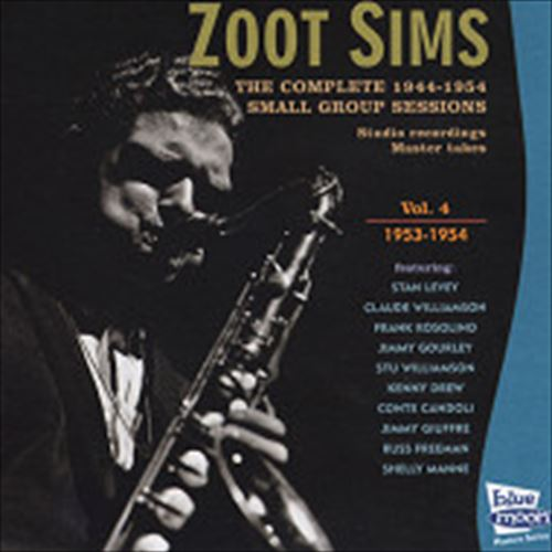 THE COMPLETE 1944-1954 SMALL GROUP SESSIONS VOL.4-1953-1954 (ジャズ / ZOOT SIMS