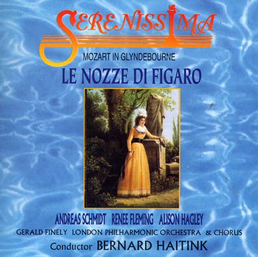 GERALD FINELY LONDON PHILHARMONIC ORCHESTRA AND CHORUS CONDUCTED BY BERNARD HAITINK CAST: ANDREAS SC / OPERA - MOZART IN GLYNDEBOURNE : LE NOZZE DI FIGARO(3CD)