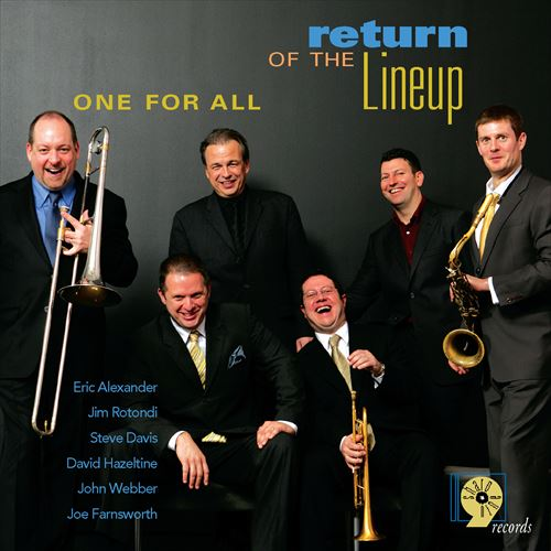 RETURN TO THE LINEUP (ジャズCD) / ONE FOR ALL