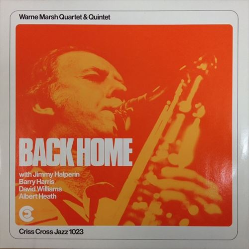 WARNE MARSH QUARTET/QUINTET / BACK HOME
