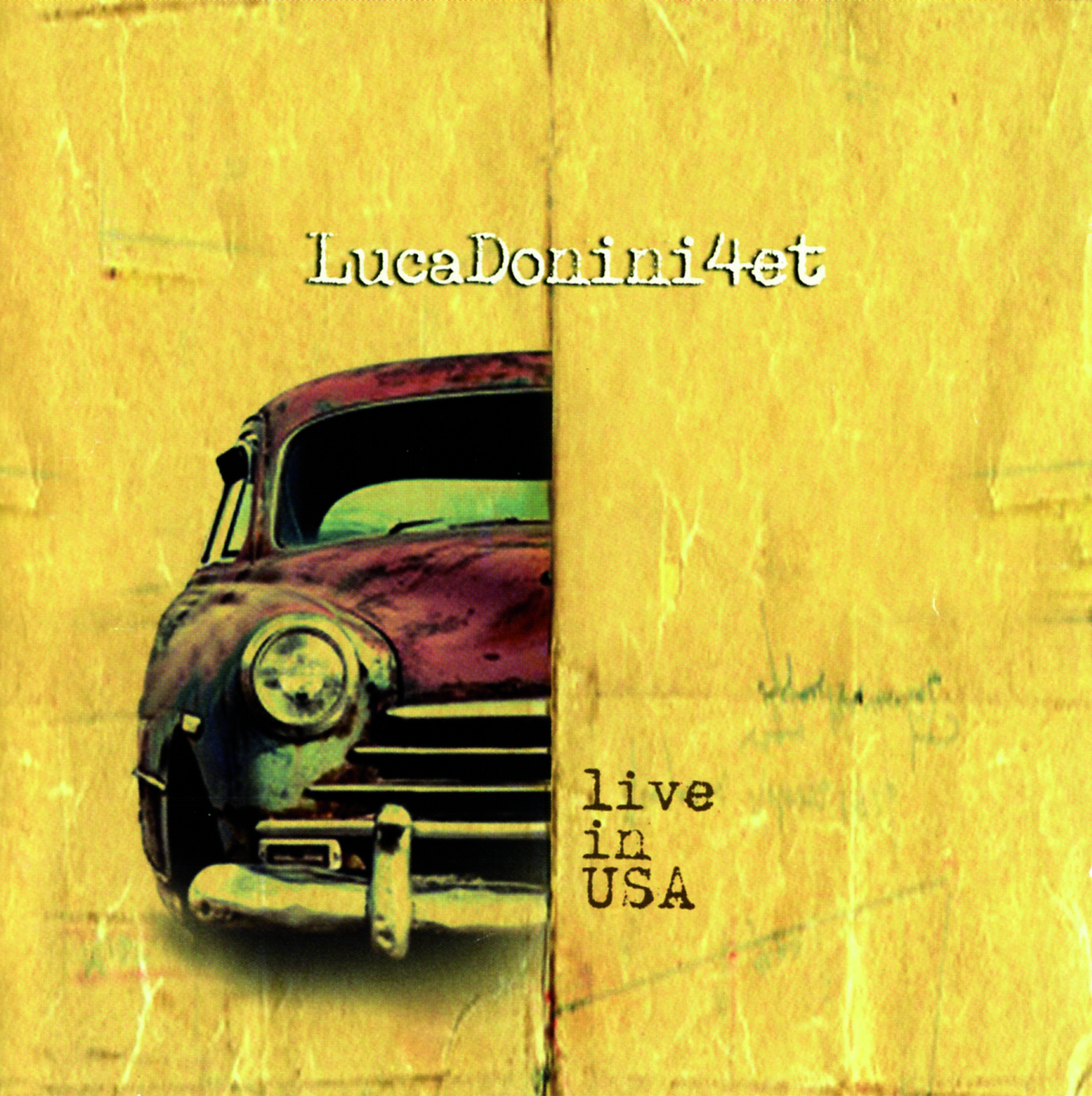 LUCA DONINI 4ET - LIVE IN USA - CD