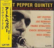 LIVE AT DONTE'S / ART PEPPER