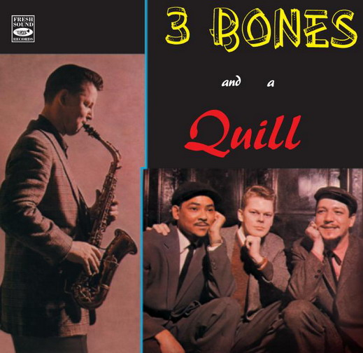 3 BONES AND A QUILL - 3 BONES AND A QUILL - CD
