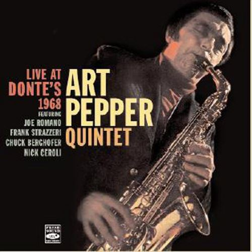 LIVE AT DONTE'S 1968(2CD) (ジャズCD) / ART PEPPER QUINTET