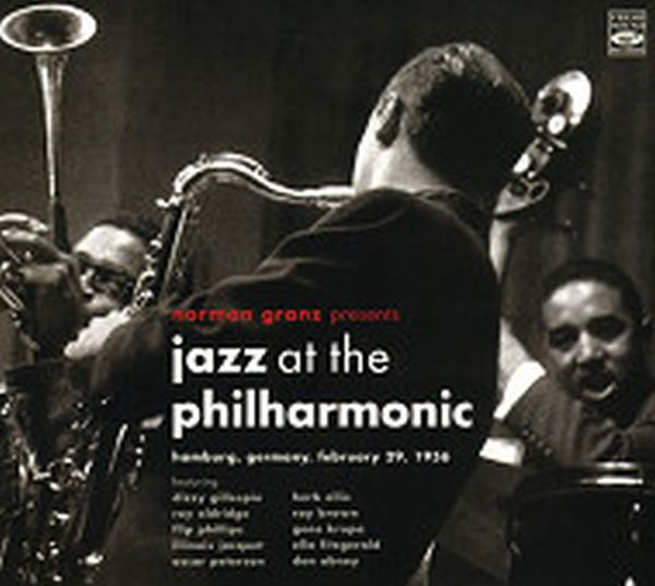 JAZZ AT THE PHILHARMONIC / HAMBURG,GERMANY,FEBRUAY 29,1956(2CD) (ジャズCD)