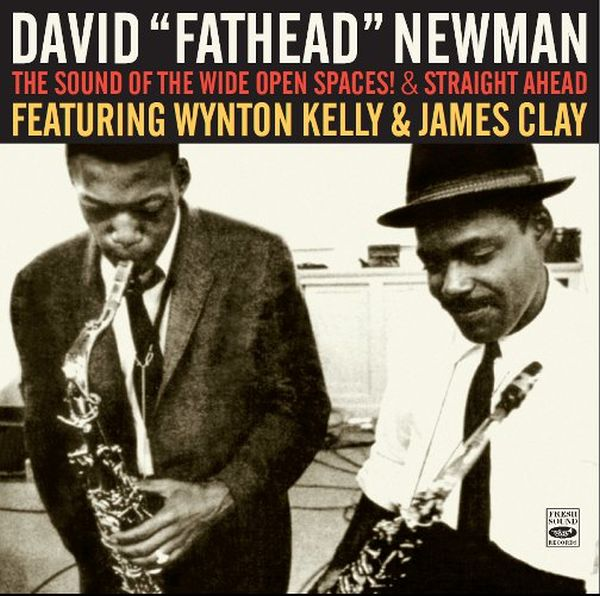 The Sound Of The Wide Open Spaces! & Straight Ahead (ジャズCD) / David 'Fathead' Newman Featuring Wynton Kelly & James Clay