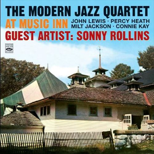 THE MODERN JAZZ QUARTET GUEST ATIST : SONNY ROLLINS / AT MUSIC INN (ジャズCD)