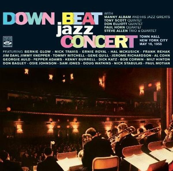 DOWN BEAT JAZZ CONCERT - TOWN HALL, NEW YORK CITY  MAY 16, 1958 - CD