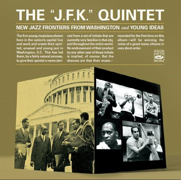 J.F.K. QUINTET / NEW JAZZ FRONTIERS FROM WASHINGTON AND YOUNG IDEAS(ジャズCD)