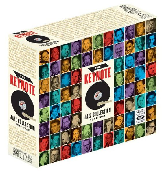 KEYNOTE SESSIONS / THE KEYNOTE JAZZ COOLECTION1941-1947 (11CD+124p BOOKLET+POSTER)