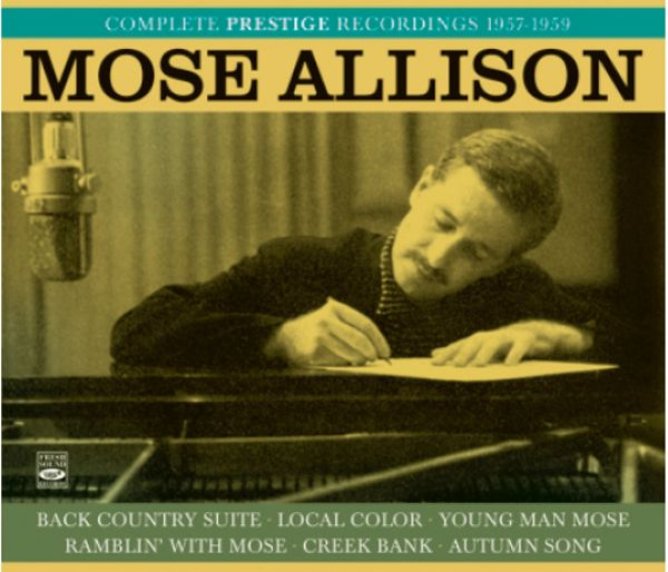 MOSE ALLISON / COMPLETE PRESTIGE RECORDINGS 1957-1959(3CD+36PAGE BOOKLET)