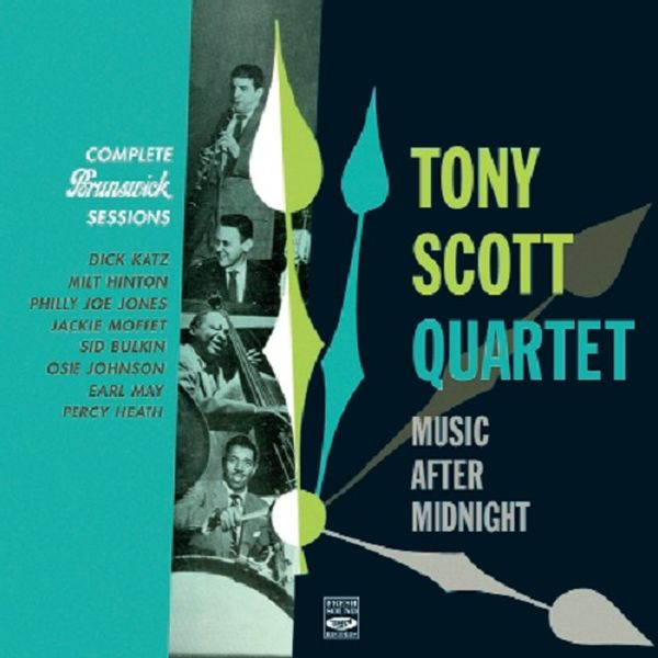 TONNY SCOTT QUARTET / COMPLETE BRUNSWICK SESSIONS(1953)