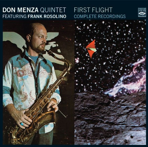 DON MENZA QUINTET FEATURING FRANK ROSOLINO / FIRST FLIGHT - COMPLETE RECORDINGS (2CD)