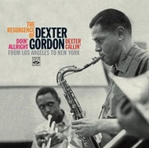 DEXTER GORDON / THE RESURGENCE OF DEXTER GORDON:from LOS ANGELES TO NEW YORK(2CD