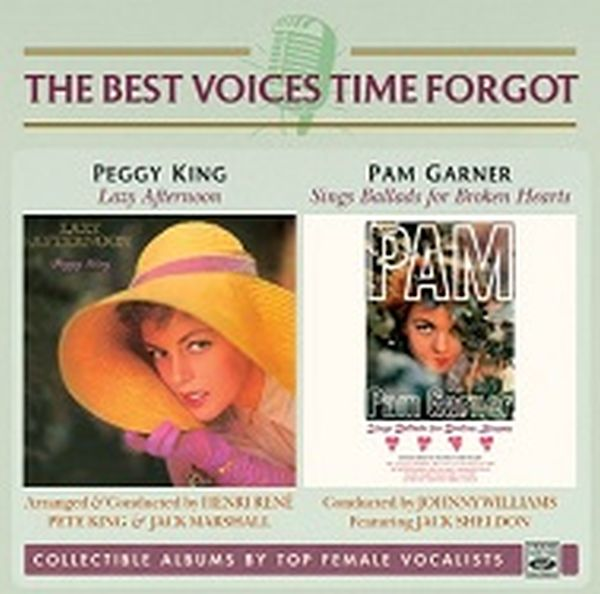 Peggy King & Pam Garner / Lazy Afternoon & Sings Ballads For Broken Hearts (2 Lp On 1 Cd)