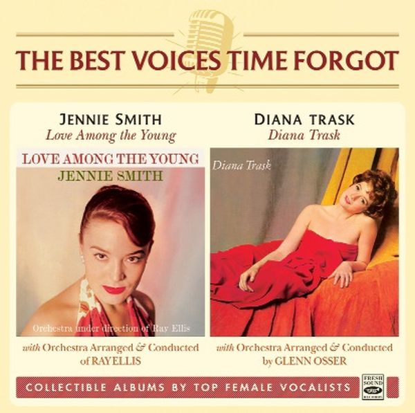 Jennie Smith & Diana Trask / LOVE AMONG THE YOUNG + DIANA TRASK (2LP on 1CD)