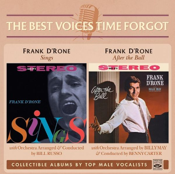 Frank D'Rone / FRANK D'RONE SINGS + AFTER THE BALL (2LP ON 1CD)