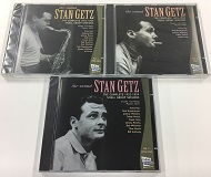 STAN GETZ (3枚セット) / Small Group Sessions Vol.1~Vol.3(1952-1954)