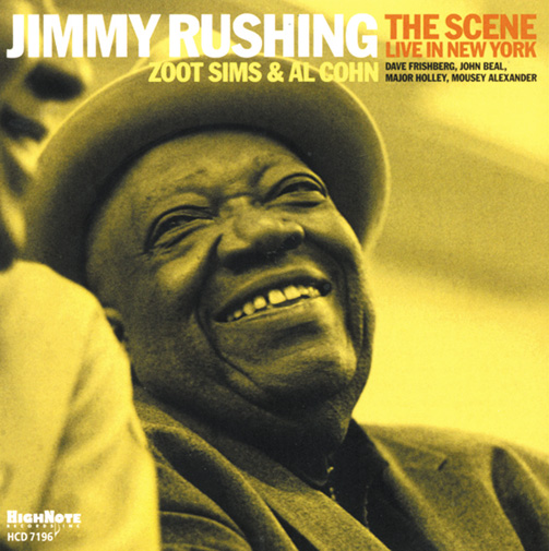 JIMMY RUSHING / THE SCENE (ジャズCD)