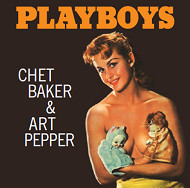 CHET BAKER & ART PEPPER PLAYBOYS LPTIME LPT1008 紙ジャケCD