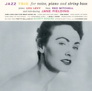 ジェーン・フィールディング JANE FIELDING / JAZZ TRIO FOR VOICE, PIANO, AND STRING BASS AND INTRODUCING JANE FIELDING 紙ジャケCD LPTIME LPT1150