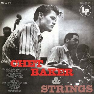 CHET BAKER / WITH STRINGS(180GRAM)  (ジャズLP)