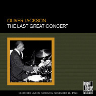 OLIVER JACKSON / THE LAST GREAT CONCERT (ジャズCD)