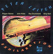 PETER LEITCH / EXHILARATION (ジャズCD)