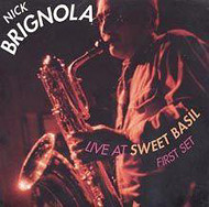 Nick Brignola / Live At Sweet Basil (ジャズCD)