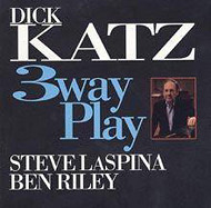 Dick Katz / 3 Way Play (ジャズCD)