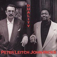 Peter Leitch / John Hicks / Duality (ジャズCD)