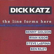 DICK KATZ / THE LINE FORMS HERE (ジャズCD)