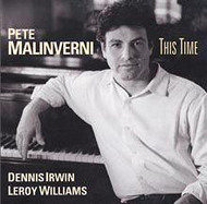 PETE MALINVERNI / THIS TIME (ジャズCD)