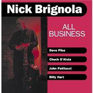 NICK BRIGNOLA / ALL BUSINESS (ジャズCD)