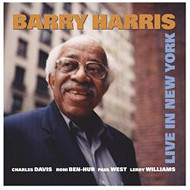 BARRY HARRIS / LIVE IN NEW YORK (ジャズCD)